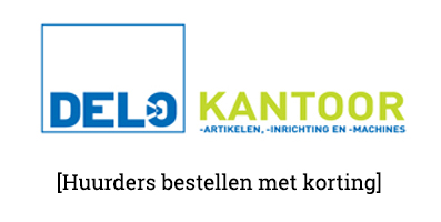 Korting op kantoorartikelen in samenwerking met Delo Kantoor & d'n Office